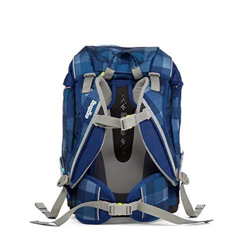Ergobag ERG-SET-001-920 Schulrucksack Set 6tlg, Unisex, blau