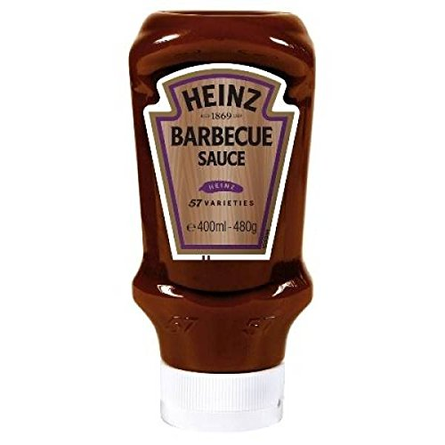 Heinz sauce barbecue 480g top down - ( Prix Unitaire ) - Envoi Rapide Et Soignée