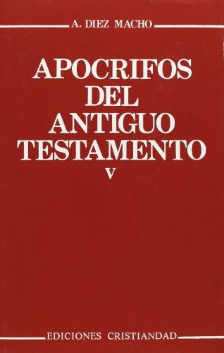 Apocrifos Del A.T. 5 Cristiandad, Ediciones