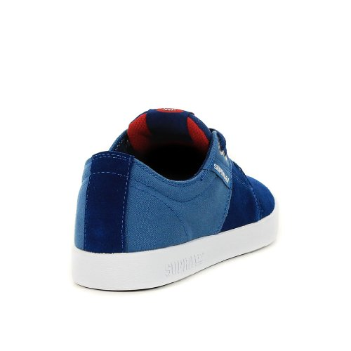Supra Stacks Blue Burgundy White Blue Burgundy White