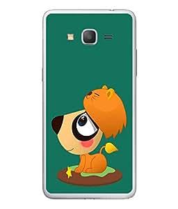 PrintVisa Designer Back Case Cover for Samsung Galaxy On 5 Pro (Quaint strange side view eye)