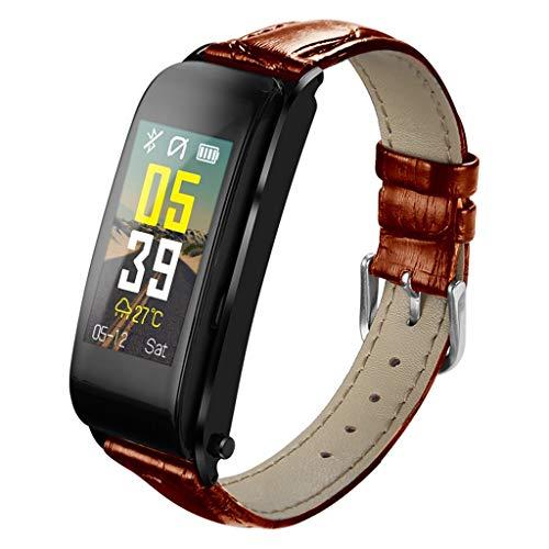 Y6 Farbdisplay Multifunktionssport Schrittzahl Schlaf Herzfrequenz-Überwachung Tracker-Informationen Tipps Wasserdicht Smart Bracelet/Für iOS Android-Geräte