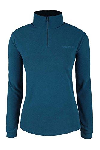 mountain-warehouse-camber-womens-fleece-walking-hiking-fleece-breathable-antipill-outdoor-sport-acti
