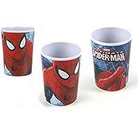 Hogar y Mas Vaso Infantil Spiderman en Melamina
