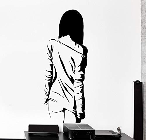 Removabloe Dekoration Wand Vinyl Aufkleber Manga Sexy Teen Mädchen Nackte Coole Aufkleber Wohnzimmer Wandpapier Wandbild 35x88 cm