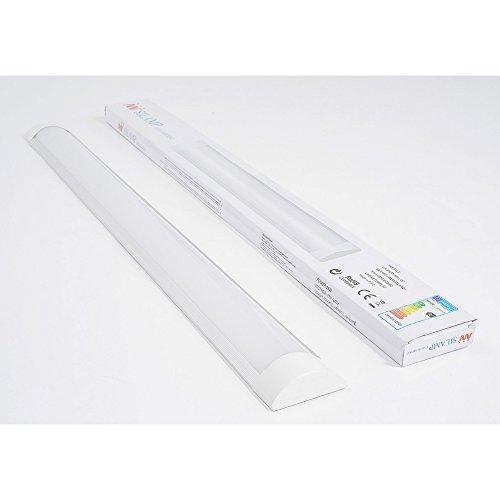Silamp - Réglette LED 36W 120cm - couleur eclairage : Blanc Froid 6000K - 8000K