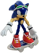 Sonic The Hedgehog 3-inch Free Riders Action Figure Sonic