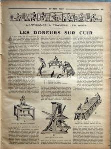 JE FAIS TOUT N? 107 du 30-04-1931 la t.s.f., un 3 lampes a reaction automatique l'emploi des tarauds et de filieres les brevets - les idees ingenieuses la menuiserie la fabrication d'une pile seche les doreurs sur cui