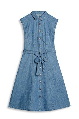 edc by Esprit 037cc1e021, Robe Femme Bleu (Blue Medium Wash)