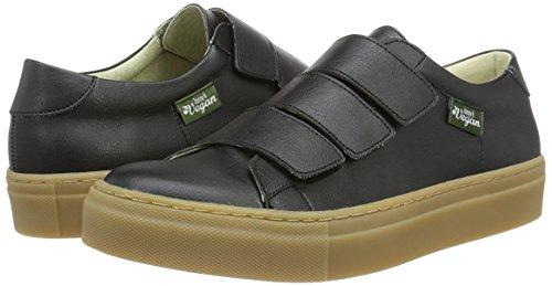 Jonny´s Vegan Damen Lluvia Sneaker, Schwarz (Negro), 40 EU - 5