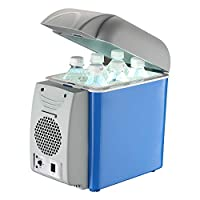 Electric Cooler, Mini Portable Thermoelectric Cooler Refrigerator/Suitable For Travel, Camping
