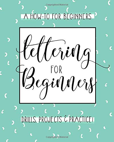 Lettering For Beginners A Creative Lettering How To Guide With Alphabet Guides Projects And Practice Pages