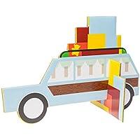 Studioroof Biglietto di auguri Moving & Holiday, 3D in cartoncino riciclato, da montare