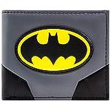 Batman Original Anzug und Logo Grau Portemonnaie Geldbörse