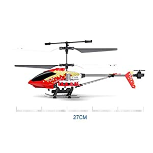 Radio Remote Control Helicopter, 2.4GHz Remote Control Remote Drone Aircraft Helicopter Toy Gift For Children And Adults With Gyroscopes And LED Lights Ready To Fly Indoor And Outdoor ( Color : 2 )
