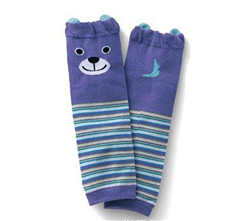 Affe Baby Knieschoner Leg Kleines Mädchen Wärmer Knieschützer Strumpfhosen Socken (Stil 1) (Socke Affe-baby Blau)