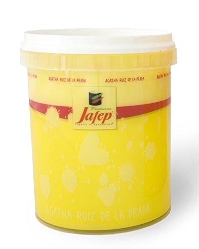 Jafep Agatha - Esmalte acrílico (750 ml) color amarillo
