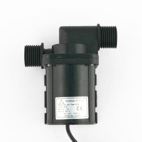 Aubig Ölpumpe Wasserpumpe Gartenpumpe Tauchpumpe Aquarienpumpe Solar 24V DC Bürstenlos Magnetische Treiber Pumpe DC40C-2445 1.1A 26.4W 1080L/H 4.5M/14.6ft -