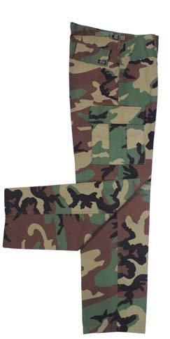 US Kampfhose BDU, woodland 01324T
