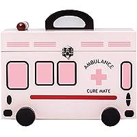 Wangmy Haushalt Medizin Box Droge Aufbewahrungsbox Erste-Hilfe-Kasten Medizinische Box Familie Kit Wooden32 *... preisvergleich bei billige-tabletten.eu