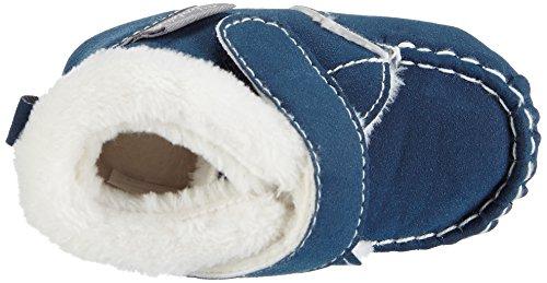 Sterntaler - Baby-schuh, Scarpine primi passi Unisex – Bimbi 0-24 Blu (Blau (marine / 300))