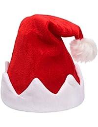 Alsino Singende Weihnachtsmütze Santa Magix Tanzende Nikolausmütze blinkende Mütze mit Musik 115