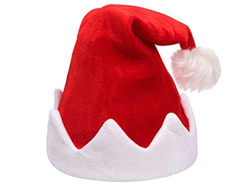 Preisvergleich Produktbild Alsino Singende Weihnachtsmütze Santa Magix Tanzende Nikolausmütze blinkende Mütze mit Musik 115