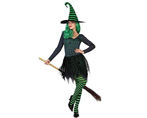 Kostüme Hexe Frauen (Atosa 22692 - Hexe Kostüm, Größe M-L,)