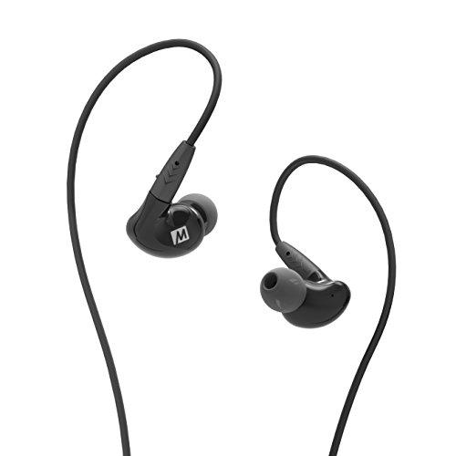 Mee Audio Pinnacle P2High Fidelity HiFi In-Ear-Kopfhörer mit abnehmbarem Kabel-Schwarz