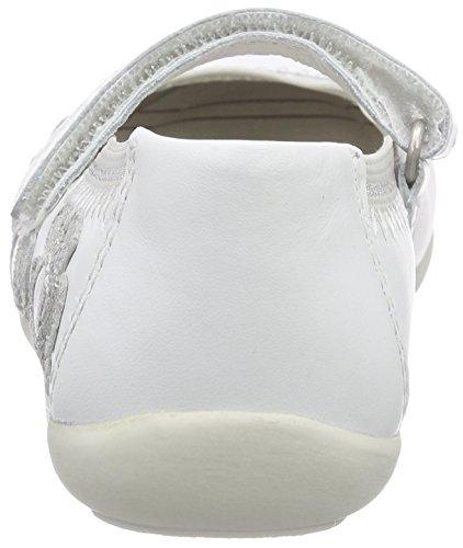 Lurchi Marrit, Ballerines fermées fille Blanc - Weiß (white 00)