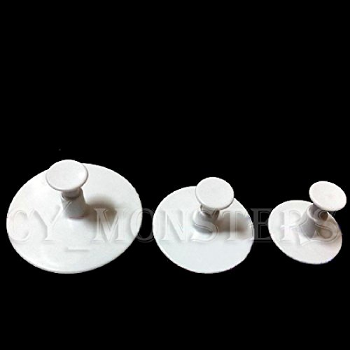 joyliveCY 3Pcs Sonnenblume Cookie Cake Kolben Schneidgeräte Mould Formwerkzeuge