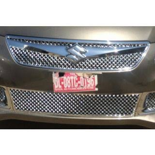SDR - Premium Quality Chrome Plated Front Grill For Maruti Suzuki New Swift dezire  available at amazon for Rs.1999