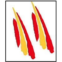 Artimagen Pegatina Bandera Trazo2 España 2 uds. 90x25/ud.