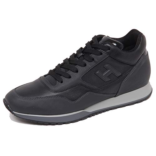 Hogan F5458 Sneaker Uomo Black/Dark Grey H321 Scarpe H 3D Shoe Man [9.5]