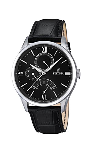 Festina Herren-Armbanduhr Analog Quarz Leder F16823/4