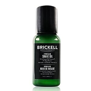Brickell Men's Hybrid Glide Pre-Shave Öl für Männer- Natürlich und Organisch – 2 oz