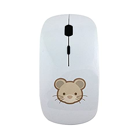 Wireless mouse with Dou Shou Qi rat