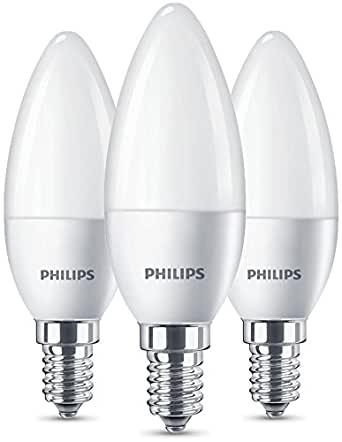philips lighting 8718696646120 philips ampoule led e14 5 5w quivalent 40w chaud blister de. Black Bedroom Furniture Sets. Home Design Ideas