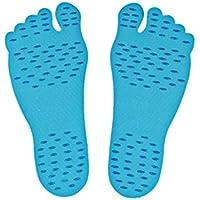 Beach Invisible shoes Strand Insole Nakefit Portable Foot Aufkleber Men und Women General wasserdicht Non-Slip