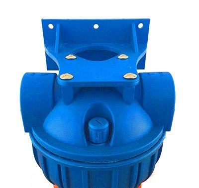 PRIESER Pumpen-Vorfilter, Wasserdurchfluss bis 5.000 l/h mit Wandhalterung und Filterschlüssel - 2