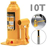 Tolsen IH73-VCES Gato hidráulico de botella de 10 toneladas (IH73)