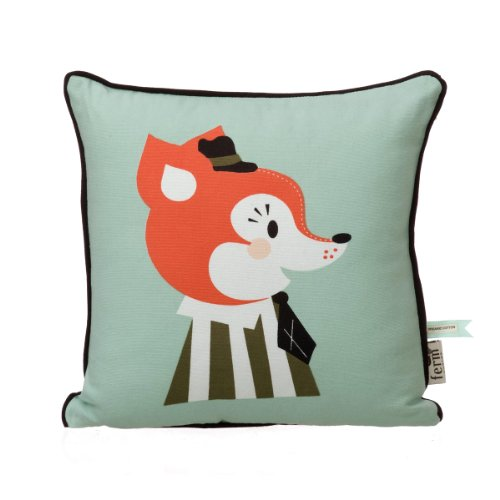 Ferm Living Kissen Kinderkissen Fuchs Mr. Frank Fox Cushion
