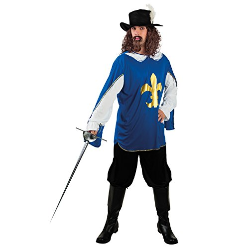 Die Musketiere Kostüme 3 (Boland 83553 - Erwachsenenkostüm Musketier Lambert,)
