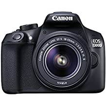 Canon EOS 1300D DSLR-Kamera mit EF-– 55DC III F3.5–5.6-Objektiv (Generalüberholt)