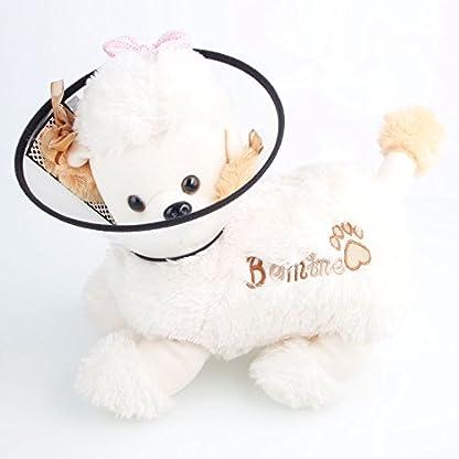 Aidle Pet Cat Dog Soft Cone Protective Collar,Plastic Transparent Elizabeth Protective Collar Anti-Bite Lick Wound… 6