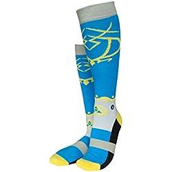 Musterbrand Zelda Knee Socks Unisex Princess Walk knee high cotton Azul 38-42