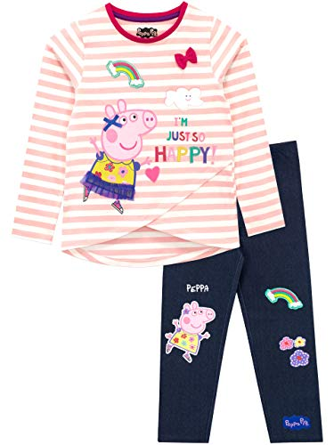 Peppa Pig Girls Peppa Top & Legg...