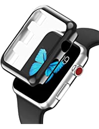 Funda protectora, Magiyard Para Apple Watch Series 3 38mm/42mm (42mm, Negro)