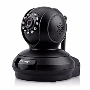 Sricam SP019 2.0MP Wireless WiFi CCTV Indoor Security Camera (Black)