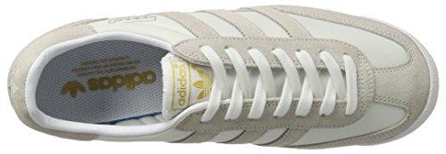 adidas Dragon Og, Scarpe da Ginnastica Basse Uomo Bianco (Footwear White/footwear White/gold Metallic)